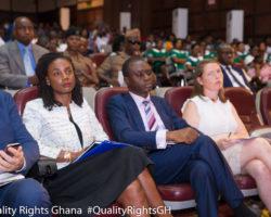 QualityRights in Mental Health Ghana launching DFID